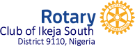 Rotary Club of Ikeja South, District 9110 Nigeria